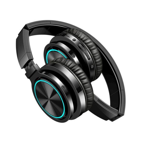 BlitzWolf® AirAux AA-ER1 -  összecsukható vezeték nélküli fejhallgató beépített mikrofonnal