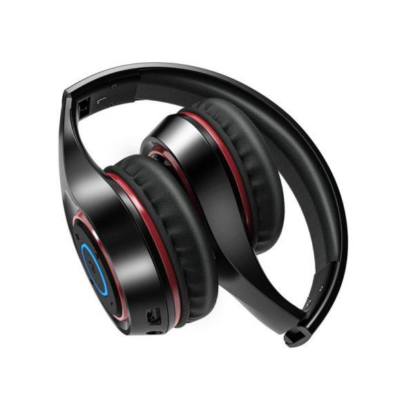 BlitzWolf® AirAux AA-ER2 - grafén összecsukható vezeték nélküli fejhallgató beépített mikrofonnal