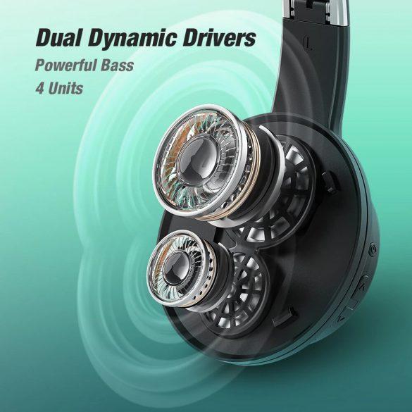 Słuchawki wyposażone są w technologię Dual Dymamic Driver Bass Sound - BlitzWolf® AirAux AA-ER3