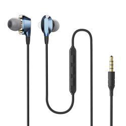 BlitzWolf Airaux AA-HE2 - dual dynamic driver vezetékes fülhallgató, 3.5 Jack, mély basszus