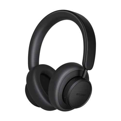 Blitzwolf® BW-ANC5 - Aktív zajszűrős, Bluetooth fejhallgató. HD Bass, 50 óra használati idő