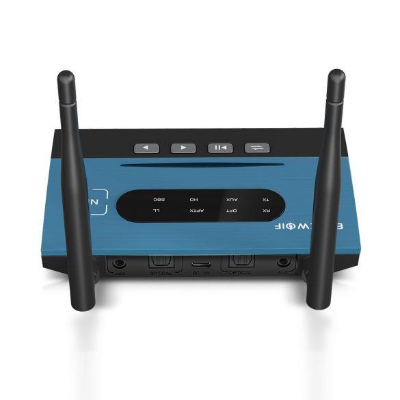 BlitzWolf BW-BR7 Bluetooth adapter - zene vevő és fogadó egység egyben - akku, 80 méter hatótáv