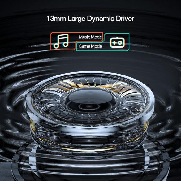 BlitzWolf® BW-FLB3 vezeték nélküli Gamer fülhallgató - 0,04s késés, Dual Dynamic Driver, RGB világítás
