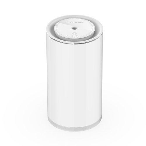BlitzWolf®BW-Fun2 Ultrahangos párologtató - 400 ml, 10 óra akku idő, fehér világítás