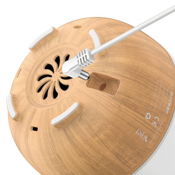 BlitzWolf®BW-FUN3 intelligens aromás párologtató - APP vezérlés, színes fény, hangvezérlés