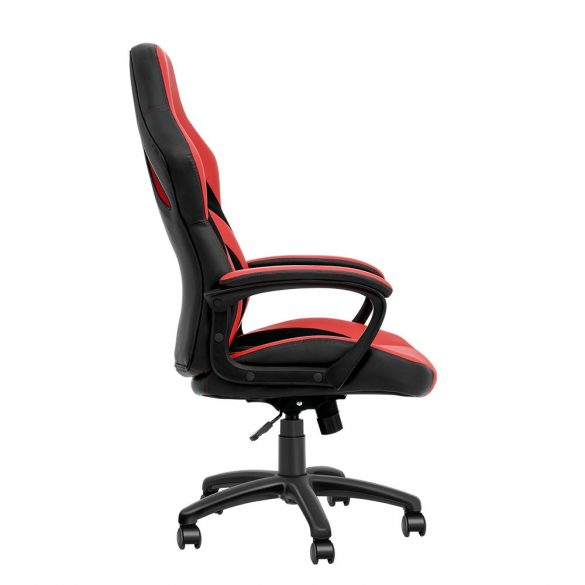 BlitzWolf BW-GC3 Piros Gamer szék - szellőző anyag, párnázott kéztartó, 160Kg terhelhetőség
