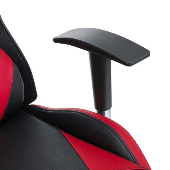 BlitzWolf BW-GC6 Piros Gamer szék - hálós háttámla, 2D kéztartó, 250Kg terhelhetőség