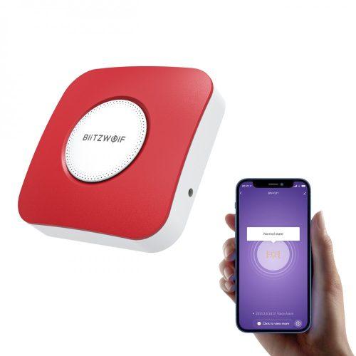 Blitzwolf® BW-IS11 Okos sziréna - 90 dB riasztási hang, APP vezérlés, USB tápegység