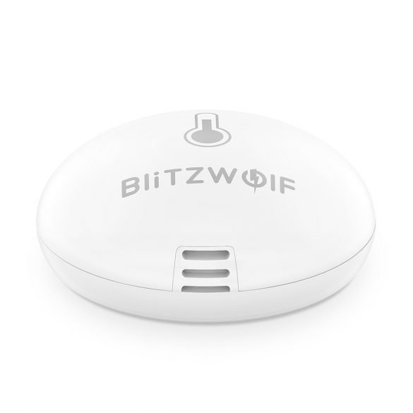 Blitzwolf® BW-IS8 Okos hőmérséklet és páratartalom érzékelő - ZigBee irányítással, akkuval