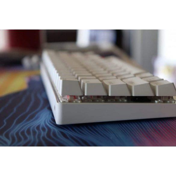 BlitzWolf BW-KB1 Gamer billentyűzet - mechanikus gombok, RGB LED világítás, vezetékes és vezeték nélküli használat, IPX4 - fehér