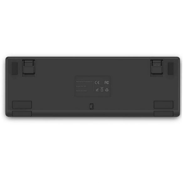 BlitzWolf BW-KB1 Gamer billentyűzet - mechanikus gombok, RGB LED világítás, vezetékes és vezeték nélküli használat, IPX4 - fekete