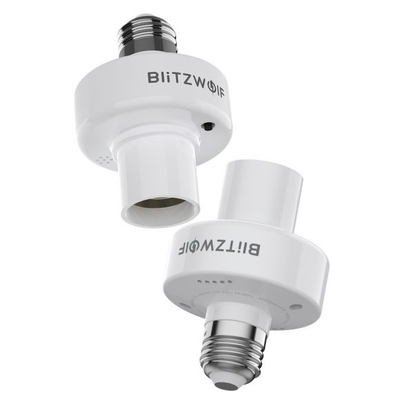 BlitzWolf® BW-LT30 - E27-es okos izzó foglalat - App és hangirányítás