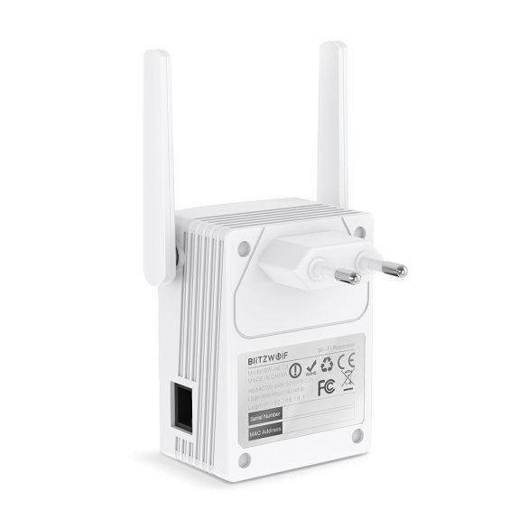 BlitzWolf BW-NET3 2.4G+5G Wireless Repeater, jelismétlő - 1200M,  1167 Mbps