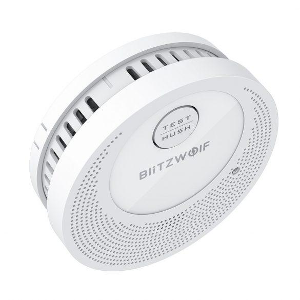 Blitzwolf® BW-OS1 Önálló füstérzékelő: 3 év akku használat, ≥85dB es riasztás,