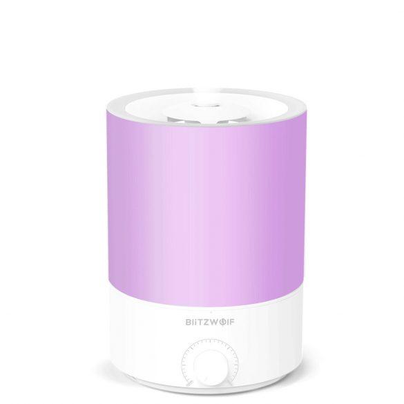 BlitzWolf®BW-SH2 Smart aromás párologtató 4 literes tartállyal - APP vezérlés, színes fény, hangvezérlés