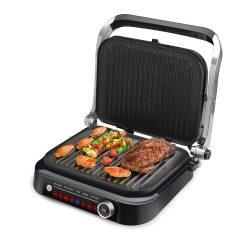 BlitzWolf® BW-SM1 - SMART asztali grillező - 7 sütés/grill funkció,  kiváló grillezési eredmények