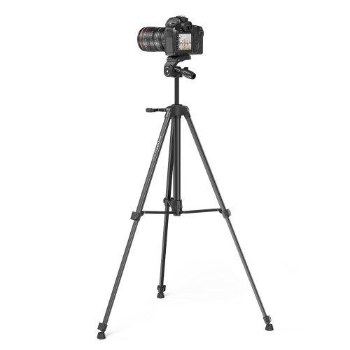 BlitzWolf® BW-STB1 - Állvány kamerákhoz és telefonokhoz -  160 cm, pehely súly, távirányító.