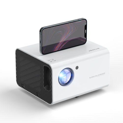 BlitzWolf® BW-VP14 - 1080P, 6000 Lumen - Házimozi projektor. WiFi csatlakozás, Trapézkorrekció, digitális zoom, beépített hangszóró