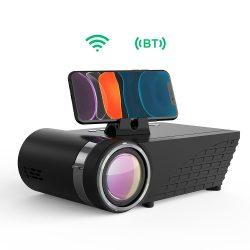 BlitzWolf® BW-VP8 - 720P, 5500 Lumen - Házimozi projektor vezteték nélküli támogatással, beépített hangszóróval