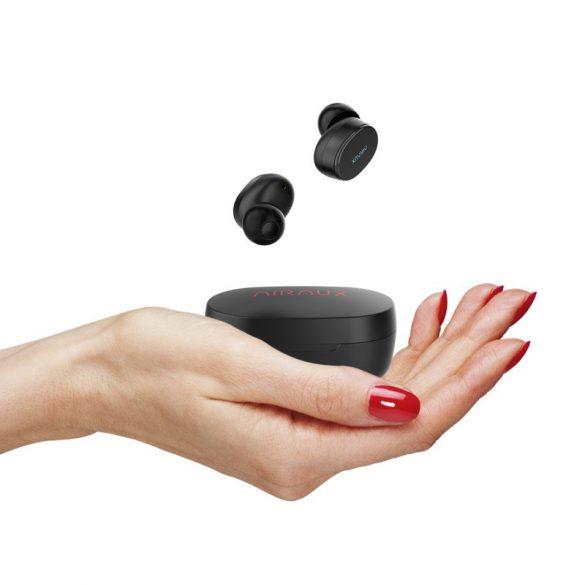 BlitzWolf® AIRAUX AA-UM4 TWS dinamic Hi-Fi Stereo mini fülhallgató, IPX5-os vízállóság