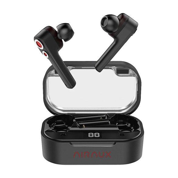 BlitzWolf® AIRAUX AA-UM6 Töltődobozos (TWS) IPX5-ös fülhallgató Dual Dynamic Driverrel és Type-C töltővel
