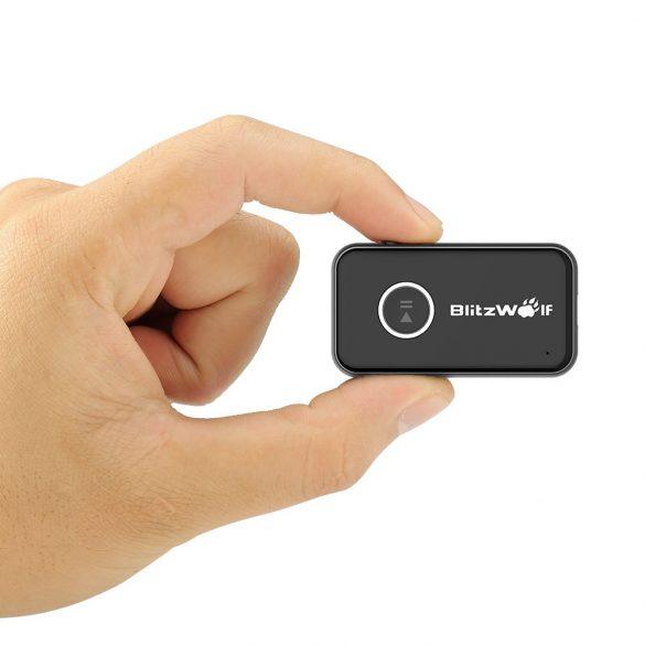 BlitzWolf® BW-BR1 Bluetooth vevő egység Jack csatlakozóval