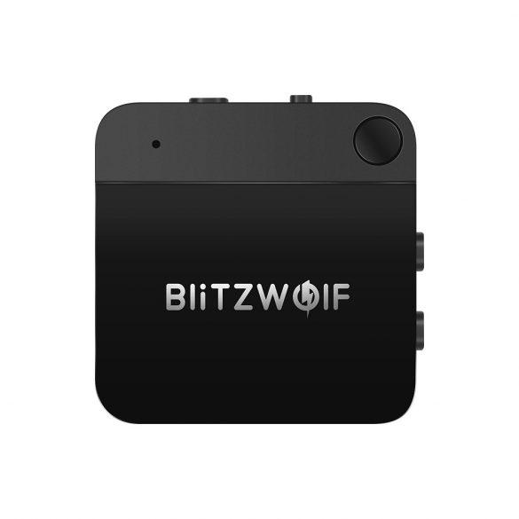 Bluetooth V4.1 aptX™ Bluetooth zene vevő és fogadó egység egyben (2 in 1) - BlitzWolf® BW-BR2
