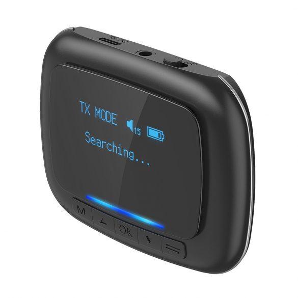 BlitzWolf® BW-BR6 Bluetooth 5.0 (aptX Low Latencyfor Bluetooth®) zene vevő és fogadó egység egyben (2 in 1)