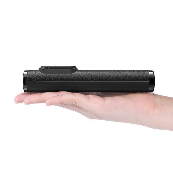 BlitzWolf BW BS9 665 mm hosszú szelfi bot és telefon állvány kivehető irányítóval - összecsukva 16cm