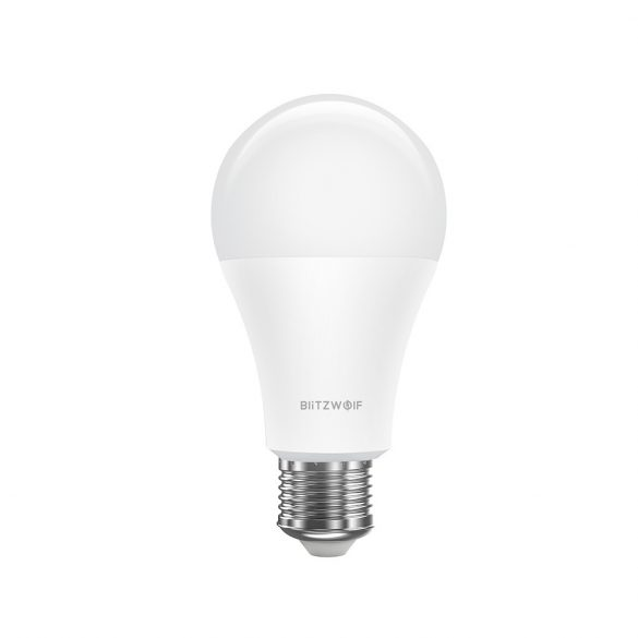 Okos LED izzó - BlitzWolf® BW-LT21 E27, 900 lm, 10W, 2700-6500K, App irányítás