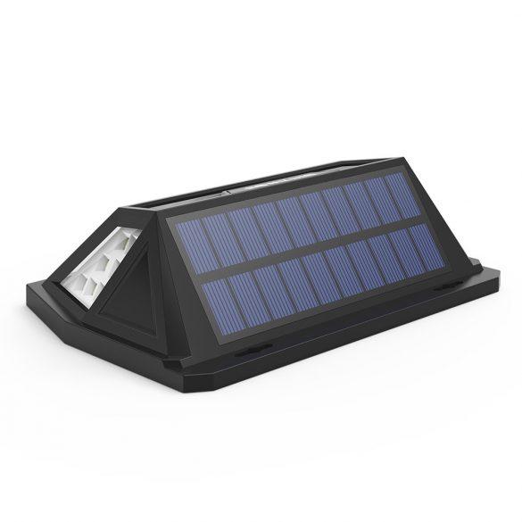 Kültéri, napelemes lámpa - BlitzWolf BW-OLT1 mozgásérzékelővel, IP64 -es vízállóság