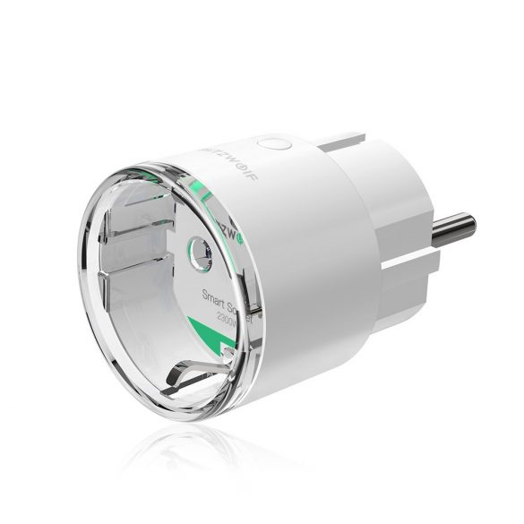 Blitzwolf® BW-SHP6 Wifis 220 Volt-os okos aljzat - Amazon Echo, Google Home és IFTTT integrálhatóság