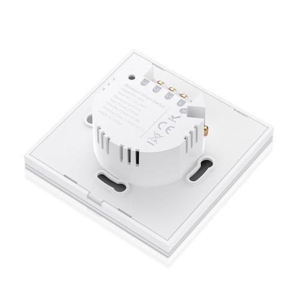 Blitzwolf® BW-SS3 Wifis okos fali villany kapcsoló - Amazon Echo, Google Home és IFTTT integrálhatóság