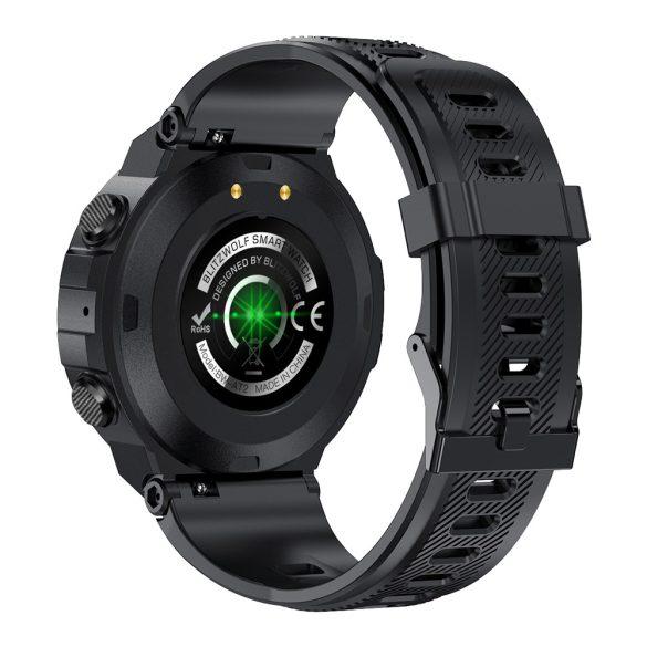 """Blitzwolf® BW-AT2 (Szürke) Sport Smart Watch - 10-15 nap akku idő,  1.3"""" IPS kijelző, számtalan beépített funkció."""
