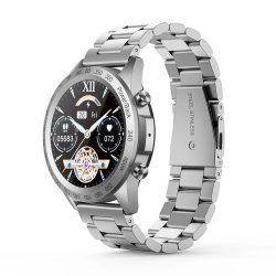 Blitzwolf® BW-HL4 (czarny) inteligentny zegarek Bluetooth - metalowy pasek, IP67, przypomnienie o połączeniach i wiadomościach, odtwarzanie muzyki, tryb Muti-sport, dane zdrowotne