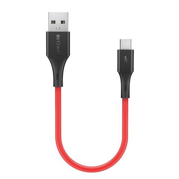 30 cm-es USB C kábel - BlitzWolf® BW-MC12