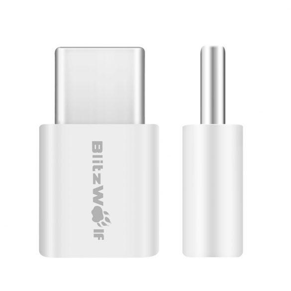 Átalakító Micro USB-ről USB Type C-re (2db) - BlitzWolf® BW-A2