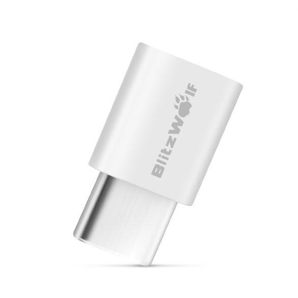 Átalakító USB C típusról Micro USB -re (2db) - BlitzWolf® BW-A2