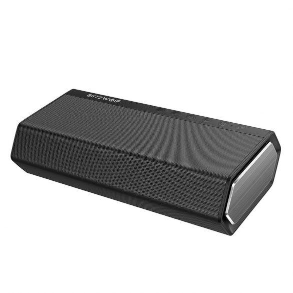 BlitzWolf® BW-AS2 Bluetooth -os Hangszóró beépített mélynyomóval, 5200mAh 30W basszus + 2x5W közép/magas