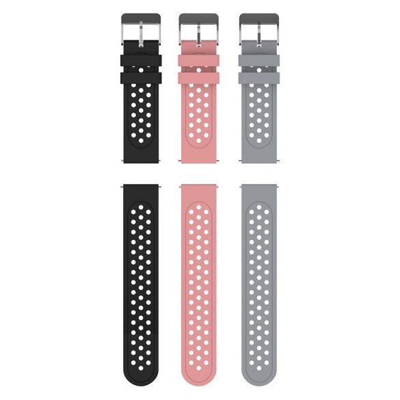 """Blitzwolf® BW-HL1 Pro Smart Watch - okosóra teljes érintőkijelzővel 1,54"""" hőmérséklet, vérnyomás és pulzusmérővel - Fekete"""
