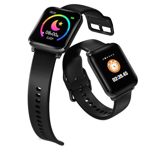 Blitzwolf® BW-HL1 Okos óra (Smart Watch) HD kijelző, vérnyomás és pulzusmérő.