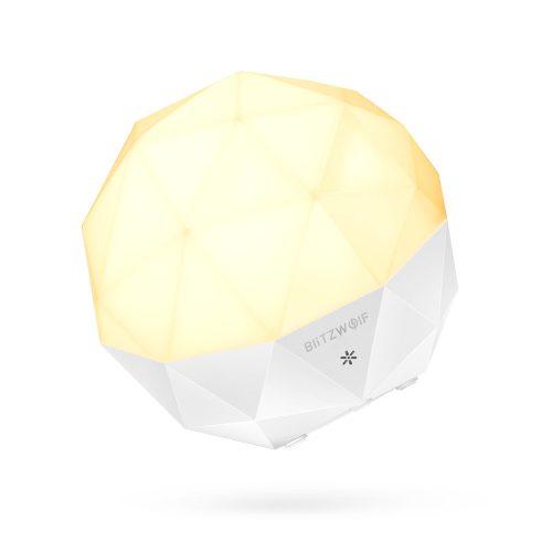 Design éjszakai lámpa - BlitzWolf® BW-L19 változtatható fényerő, tölthető akkumulátor