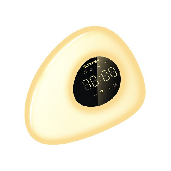 Ébresztő óra - változtatható színnel és fényerővel - BlitzWolf® BW-LT23 Pro