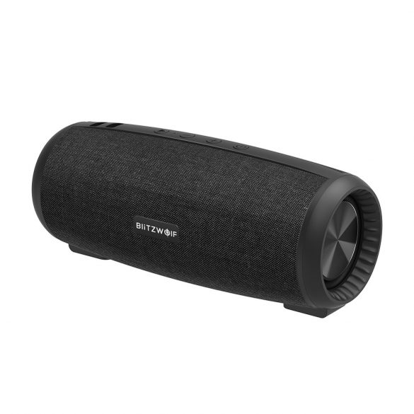 BlitzWolf® BW-WA1 Bluetooth -os Hangszóró, 360 fokos térhangzás, IPX5-ös vízállóság, 12W, 10 óra lejátszási idő