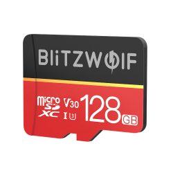BlitzWolf® BW-TF1 micro SD kártya adapterrel, 128 GB