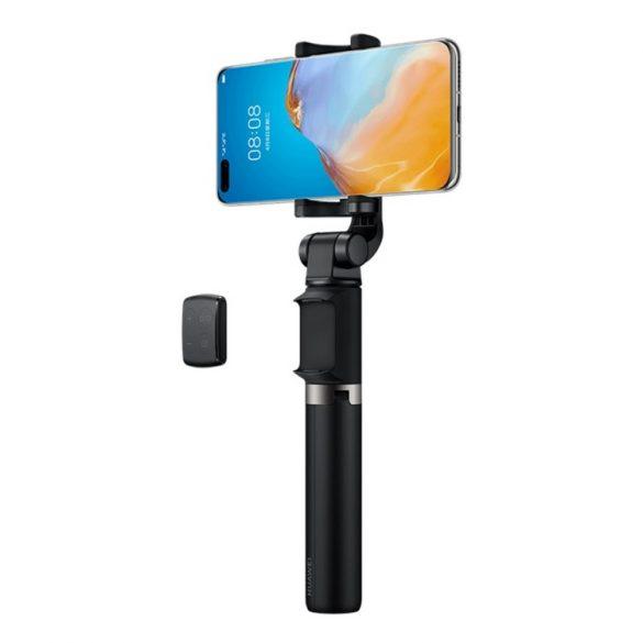 Huawei Bluetooth szelfi bot + tripod - kivehető bluetooth távirányító zoom és video/kép váltási funkciókkal, max. 640mm hossz