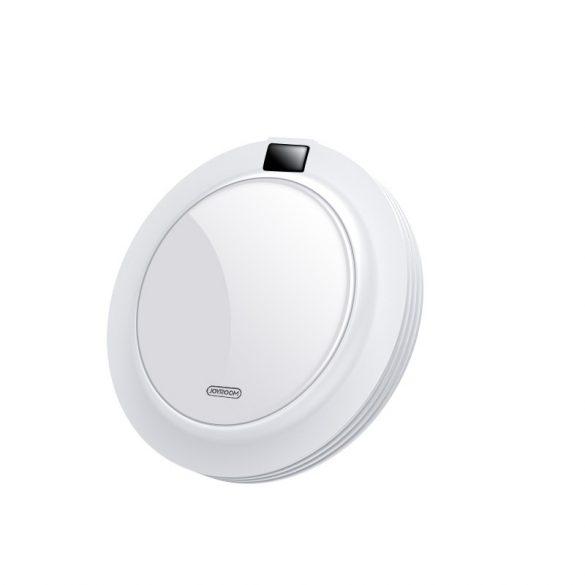 JOYROOM JR-A16 + hálózati gyorstöltő - üveglap, kijelző, 18W-os vezeték nélküli gyorstöltő minden QI szabványt támogató telefonhoz - fehér