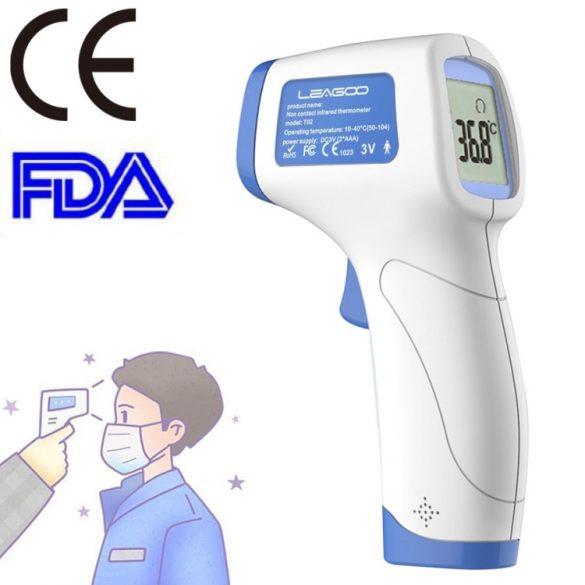 Leagoo T02 - érintésmentes infravörös testhőmérséklet mérő (lázmérő)