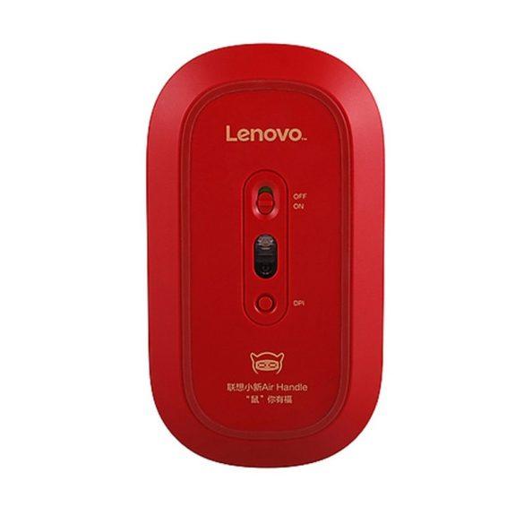 Lenovo Air Handle vezeték nélküli egér - 2,4 Ghz-es vezeték nélküli kapcsolat, 10 méteres hatótáv - piros