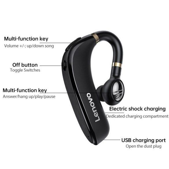 Lenovo HX106 vezeték nélküli Bluetooth 5.0 headset